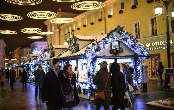 Międzynarodowy Festiwal Bożonarodzeniowe Iluminacje - Sputnik Polska