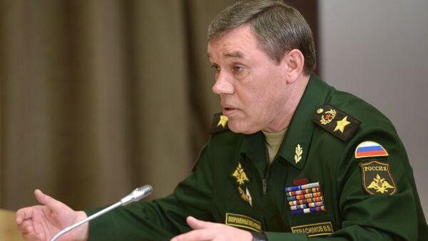 Szefa Sztabu Generalnego Sił Zbrojnych Rosji Walerij Gierasimow - Sputnik Polska