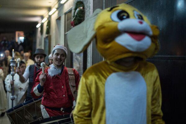 Obchody Bożego Narodzenia w Damaszku - Sputnik Polska