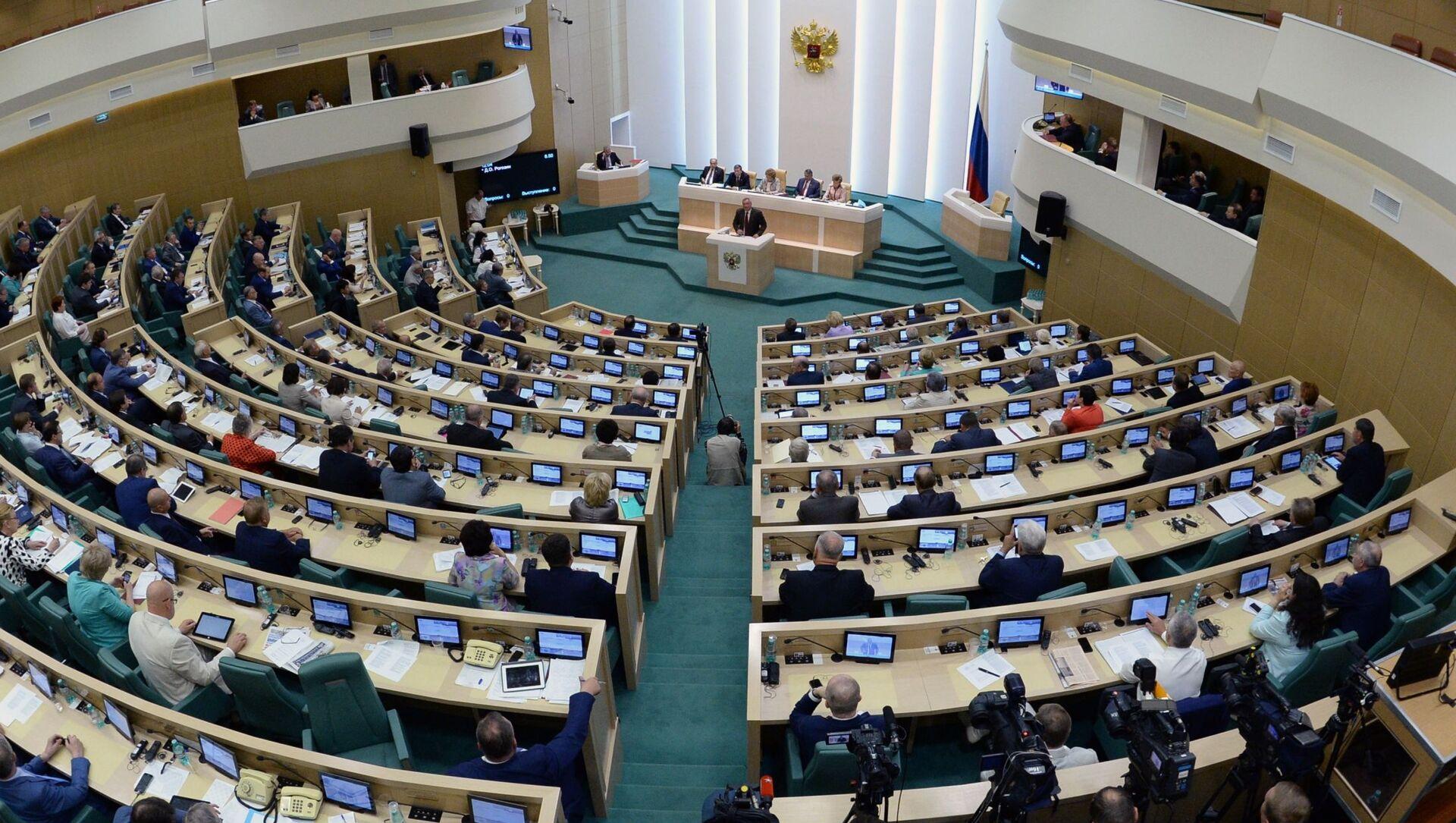 Posiedzenie Rady Federacji Rosji - Sputnik Polska, 1920, 26.03.2021