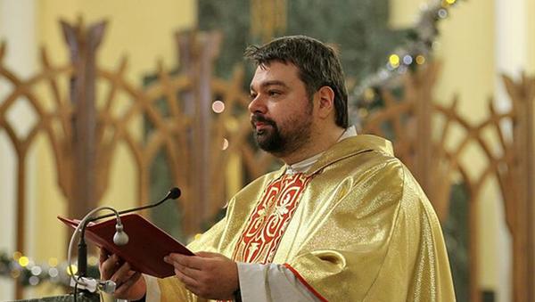 Ojciec Cyryl (Gorbunow), dyrektor Biura Informacyjnego Arcybiskupstwa Katolickiego Matki Boskiej w Moskwie - Sputnik Polska