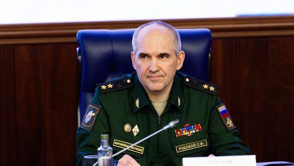Szef głównego zarządu operacyjnego Sztabu Generalnego Sił Zbrojnych FR gen. Siergiej Rudskoj - Sputnik Polska