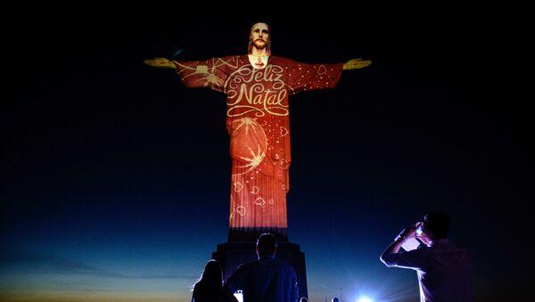 Pomnik Chrystusa Odkupiciela w Rio de Janeiro - Sputnik Polska