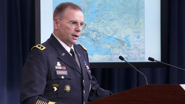 Dowódca Wojsk Lądowych USA w Europie Ben Hodges - Sputnik Polska