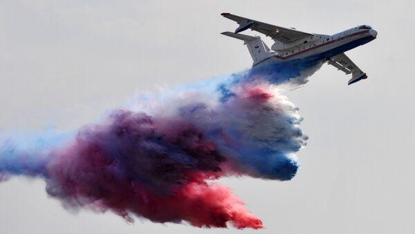 Rosyjski samolot-amfibia Be-200 - Sputnik Polska
