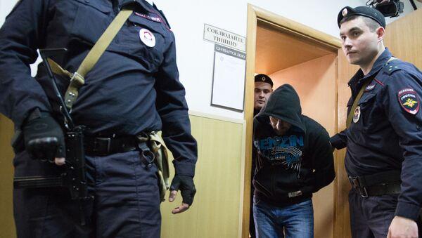 Oskarżony o zabójstwo opozycyjnego polityka Borysa Niemcowa Hamzat Bahajew - Sputnik Polska