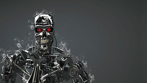 Robot-terminator - Sputnik Polska