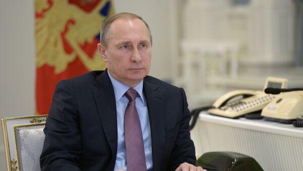 Prezydent Rosji Władimir Putin w Moskwie - Sputnik Polska