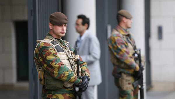 Patrole w Belgii - Sputnik Polska