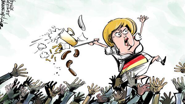 W 2016 roku kryzys migracyjny spocznie na budżetach landowych: wydatki wynoszą około 17 miliardów euro - Sputnik Polska