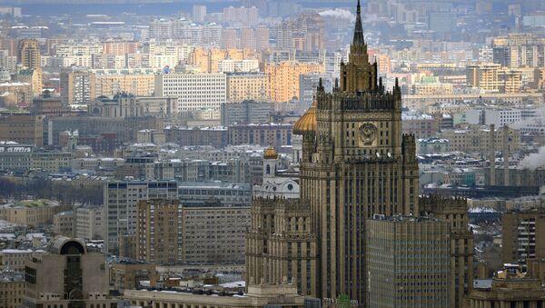 Ministerstwo Spraw Zagranicznych Federacji Rosyjskiej - Sputnik Polska