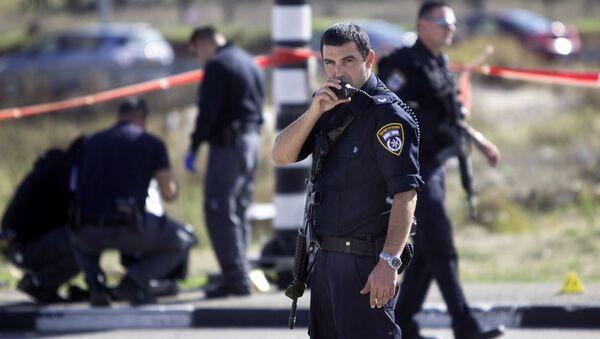 Izraelska policja - Sputnik Polska