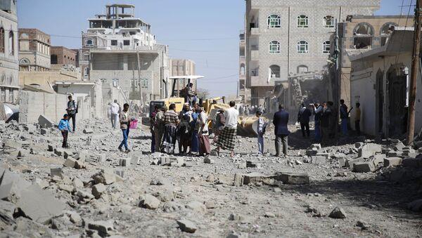 Konflikt w Jemenie. Sana - Sputnik Polska