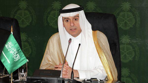 Minister spraw zagranicznych Arabii Saudyjskiej Adil ibn Ahmad ad-Dżubeir - Sputnik Polska