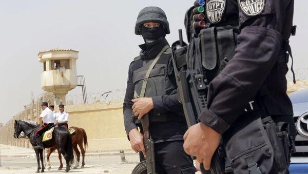 Egipska policja w Kairze - Sputnik Polska