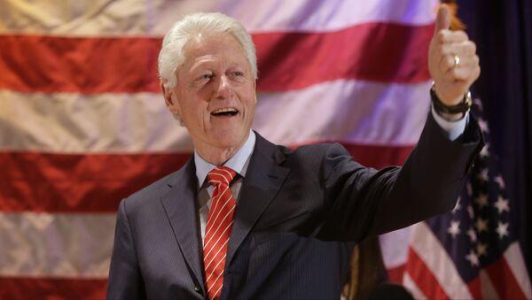 Były prezydent Stanów Zjednoczonych Bill Clinton - Sputnik Polska