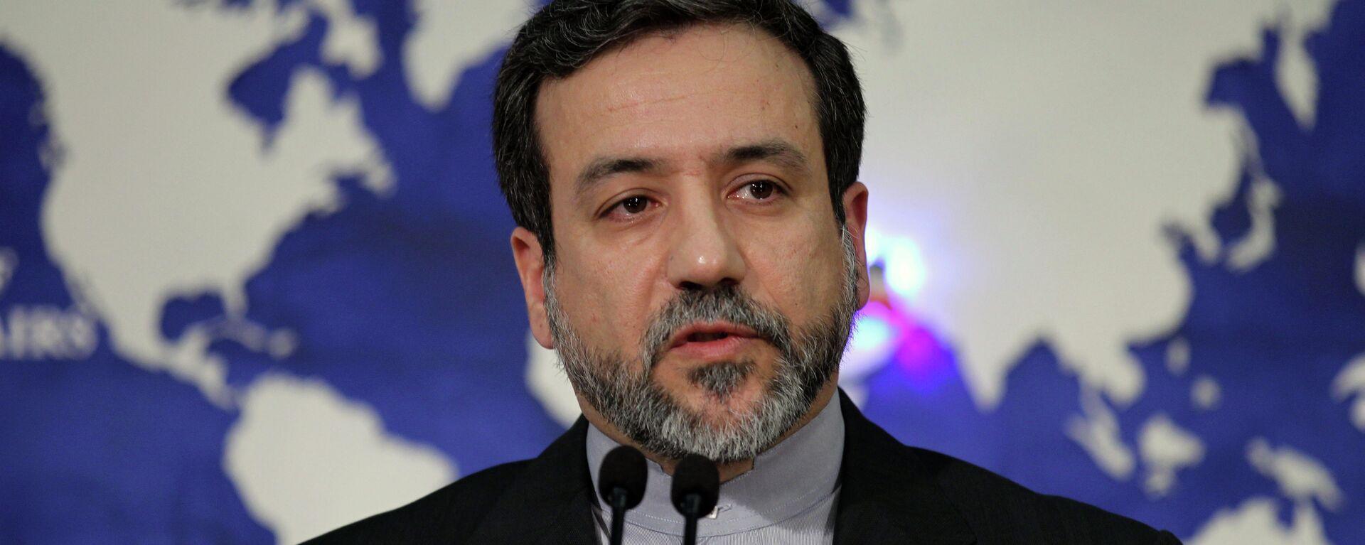 Wiceminister spraw zagranicznych Iranu Abbas Araghchi - Sputnik Polska, 1920, 21.06.2021