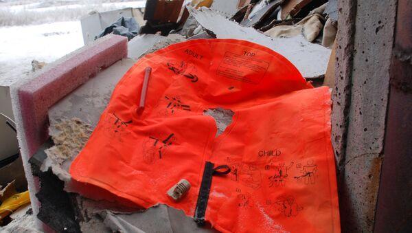 Miejsce katastrofy Boeing 777 - Sputnik Polska