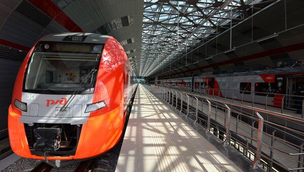 Superszybka magistrala Moskwa-Kazań: Rosyjskie Koleje otrzymały propozycję od chińskich inwestorów - Sputnik Polska