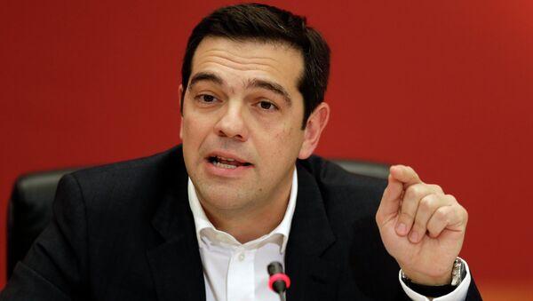 Aleksis Tsipras, premier Grecji - Sputnik Polska