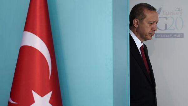 Prezydent Turcji Recep Tayip Erdogan - Sputnik Polska