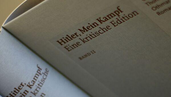"""Wydanie krytyczne """"Mein Kampf"""" Adolfa Hitlera - Sputnik Polska"""