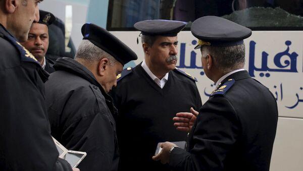 Egipscy policjanci - Sputnik Polska