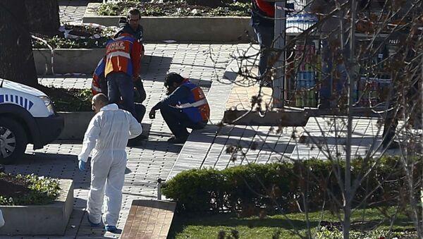 Eksperci medycyny sądowej na miejscu eksplozji w Stambule - Sputnik Polska