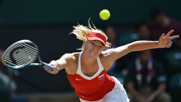 Rosyjska tenisistka Maria Szarapowa na XXX Letnich Igrzyskach Olimpijskich w Londynie - Sputnik Polska