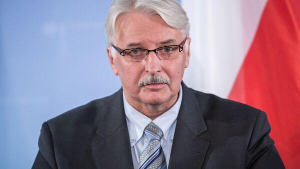 Minister spraw zagranicznych Witold Waszczykowski - Sputnik Polska