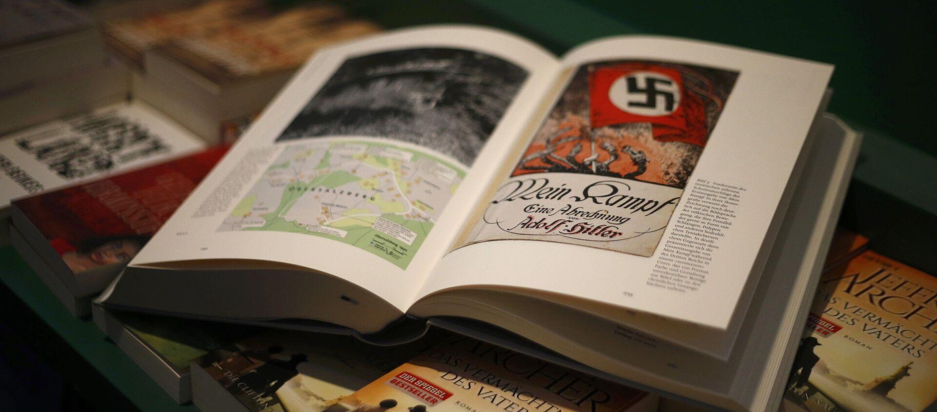 """""""Hitler. Mein Kampf. Wydanie krytyczne - Sputnik Polska, 1920, 19.02.2021"""