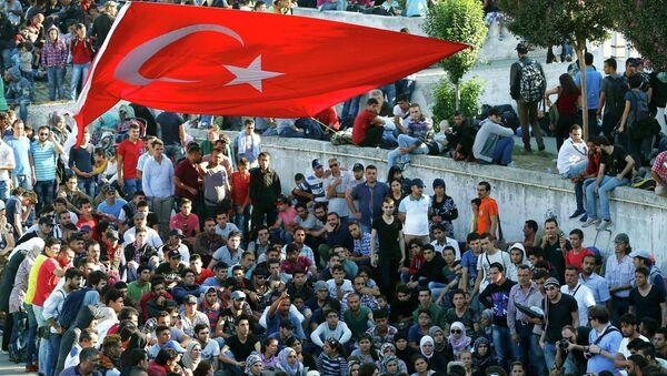 Migranci w Turcji - Sputnik Polska