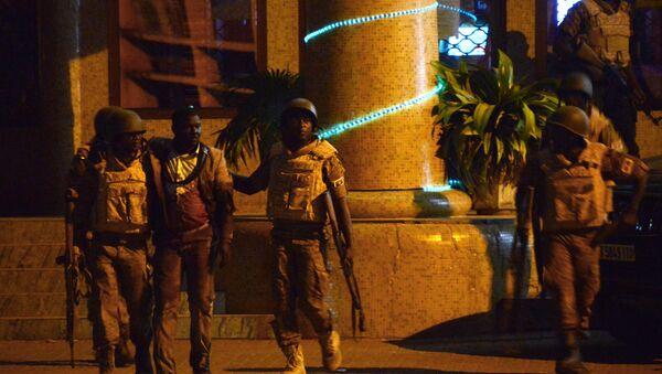 Atak na hotel w Wagadugu - Sputnik Polska