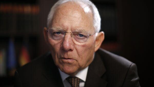 Niemiecki minister finansów Wolfgang Schäuble - Sputnik Polska