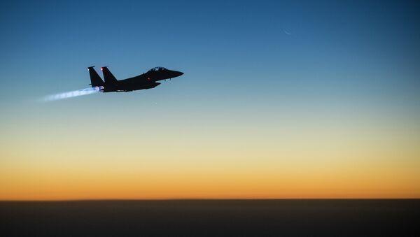 Amerykański myśliwiec F-15 - Sputnik Polska