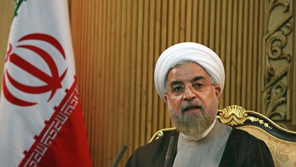Prezydent Iranu Hasan Rouhani - Sputnik Polska