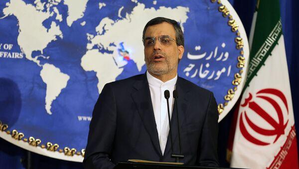 Rzecznik MSZ Iranu Hossein Jaberi Ansari - Sputnik Polska