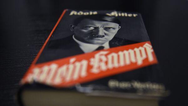 Niemieckie wydanie książki Adolfa Hitlera Mein Kampf - Sputnik Polska