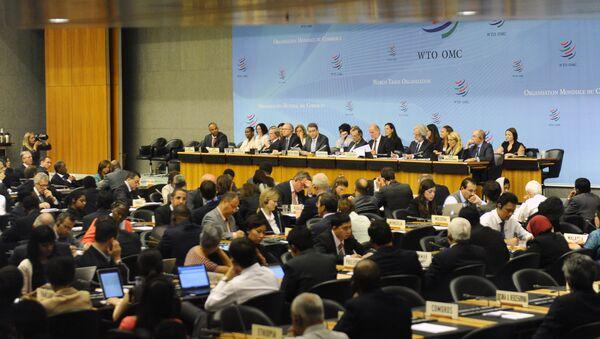 Posiedzenie WTO w Genewie - Sputnik Polska