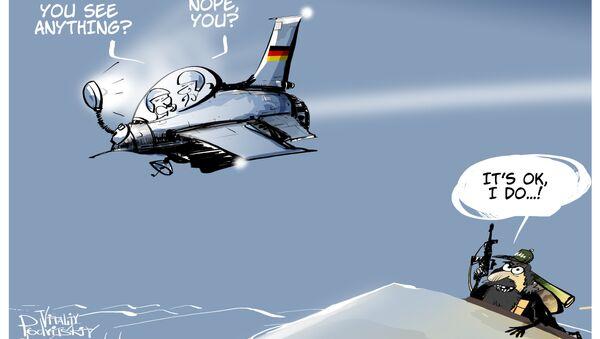 Bundeswehra może latać tylko w dzień! - Sputnik Polska