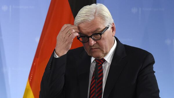 Szef niemieckiej dyplomacji  Frank-Walter Steinmeier - Sputnik Polska