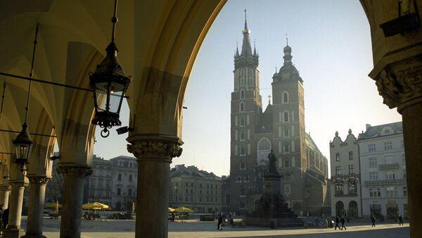 Kraków, Plac Mariacki - Sputnik Polska