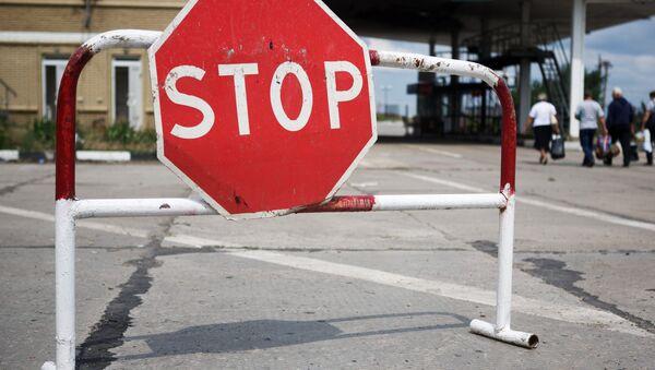 Znak Stop - Sputnik Polska