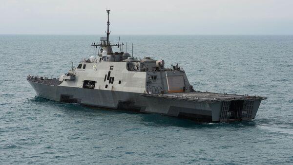 Fregata  Fort Worth LCS-3 - Sputnik Polska