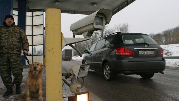 Punkt kontroli granicznej w Obwodzie Kaliningradzkim - Sputnik Polska