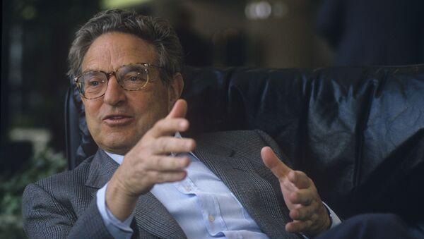 George Soros - Sputnik Polska