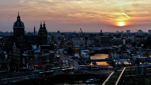 Amsterdam skyline - Sputnik Polska