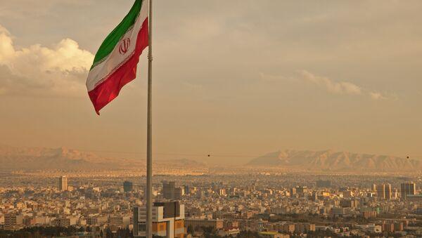 Flaga Iranu - Sputnik Polska