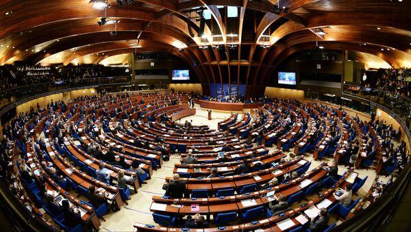 Zgromadzenie Parlamentarne Rady Europy w Strasburgu - Sputnik Polska