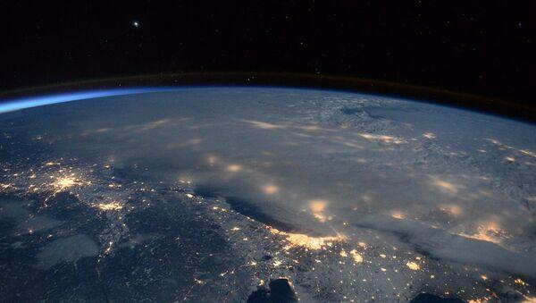 Astronauta opublikował zdjęcie burzy śnieżnej, jaka przeszła przez USA - Sputnik Polska